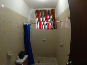 shower at kankun hostel